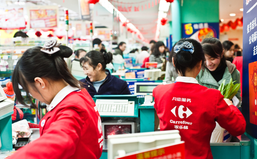 French Supermarket Expands Chinese E-commerce Offerings